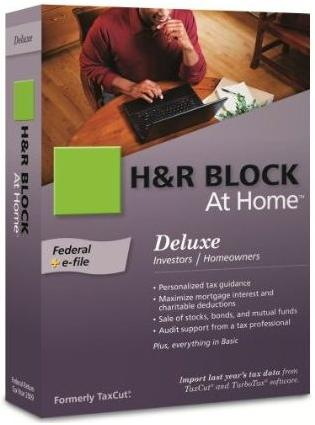h&r block tax software 2019